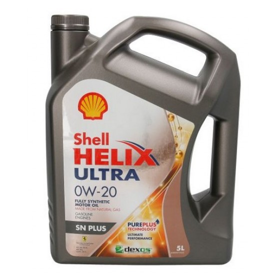 Shell HELIX ULTRA SN 0W20 5L двигателно масло