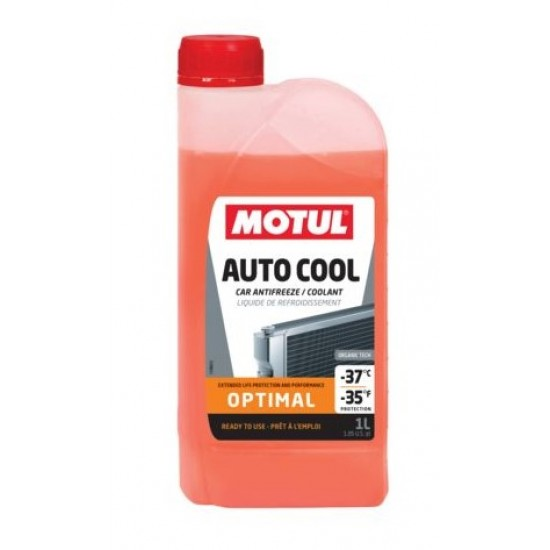 Антифриз Motul оранжев 1L Auto Cool Optimal -37C