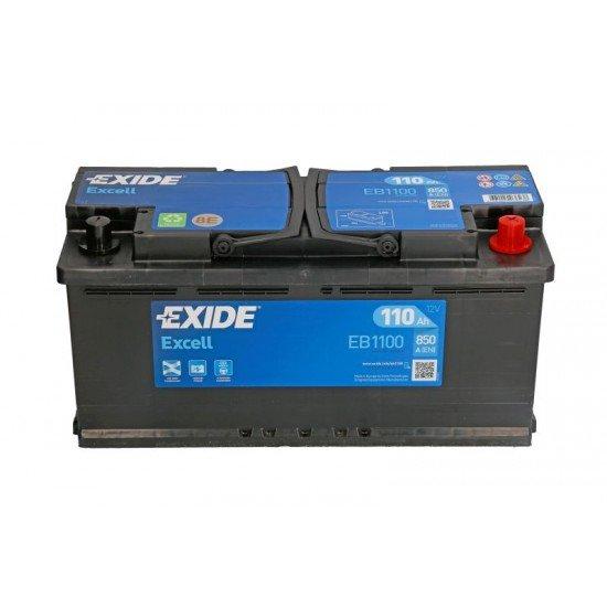 Акумулатор EXIDE EB1100 12V 110Ah 850A
