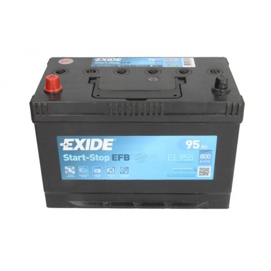 Акумулатор EXIDE EL955 95Ah 800A