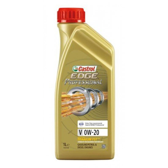 Двигателно масло CASTROL EDGE PROF.V 0W20 1L